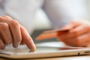 It's easy to set up online payment when you're building a website