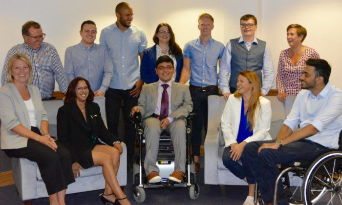 Liz's team at TAP, tackling the disability employment gap
