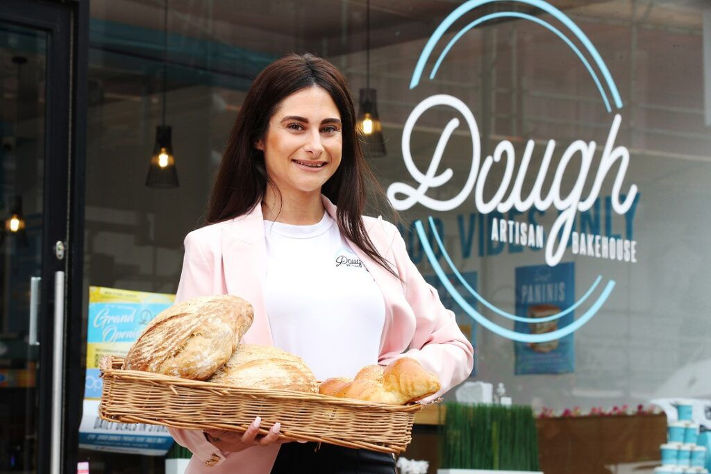 Carina Lepore runs Dough Artisan Bakehouse with her sister and her father