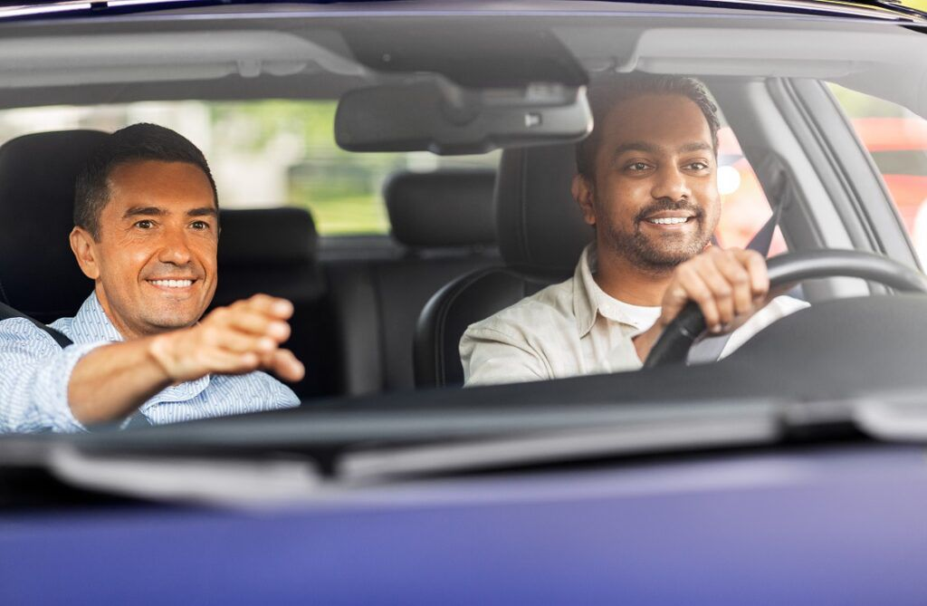 Being a driving instructor and helping people learn a new skill can be rewarding